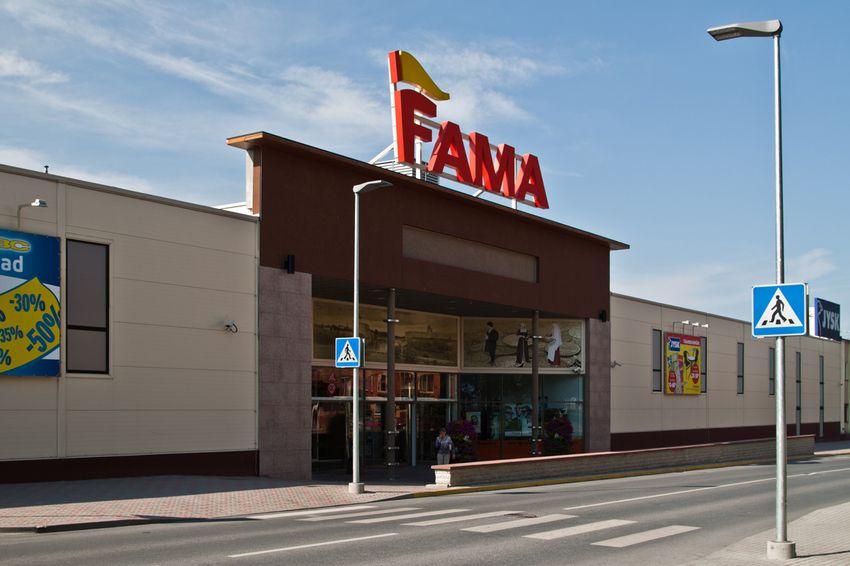 "Гипермаркет ""FAMA"" в Нарве"