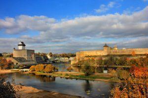 Эстонский город Нарва
