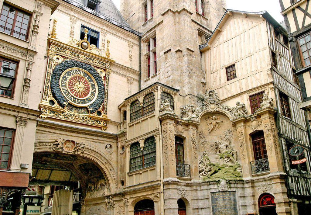 Часы Гро-Орлож в Руане, Нормандия