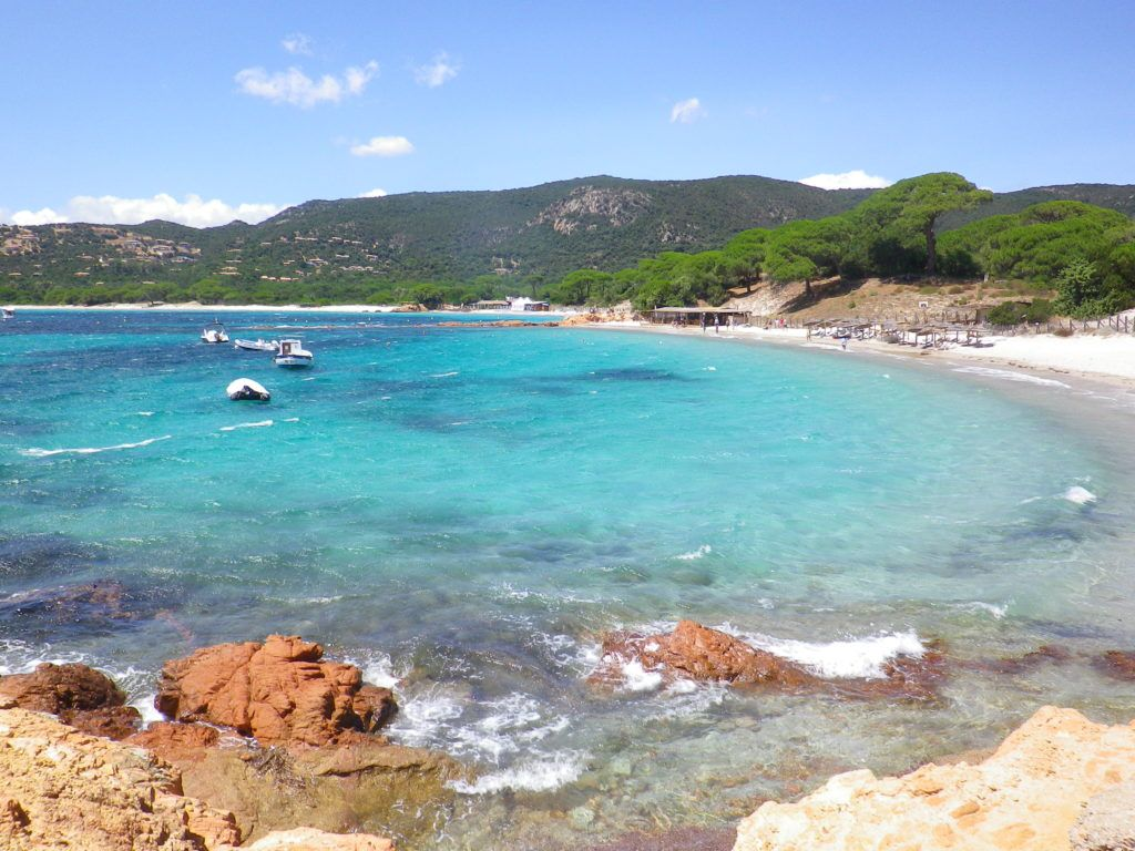 Пляж Паломбаджиа, остров Корсика, Франция