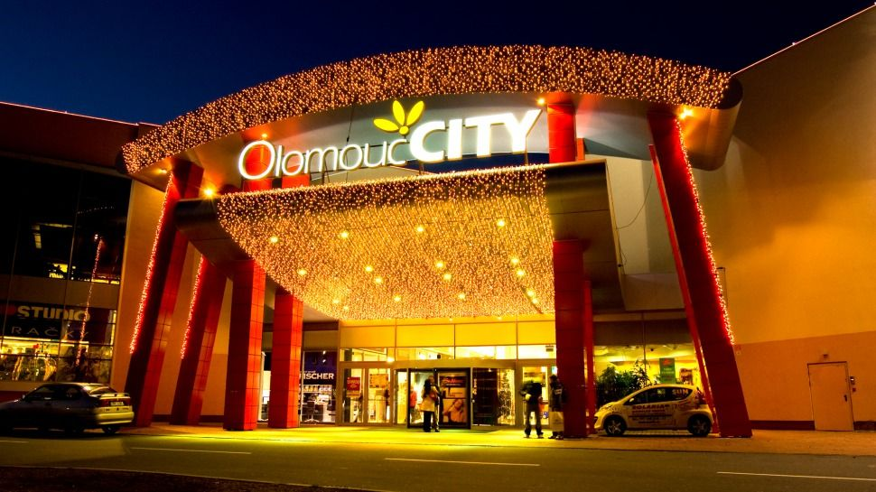 Торговые центры Оломоуца