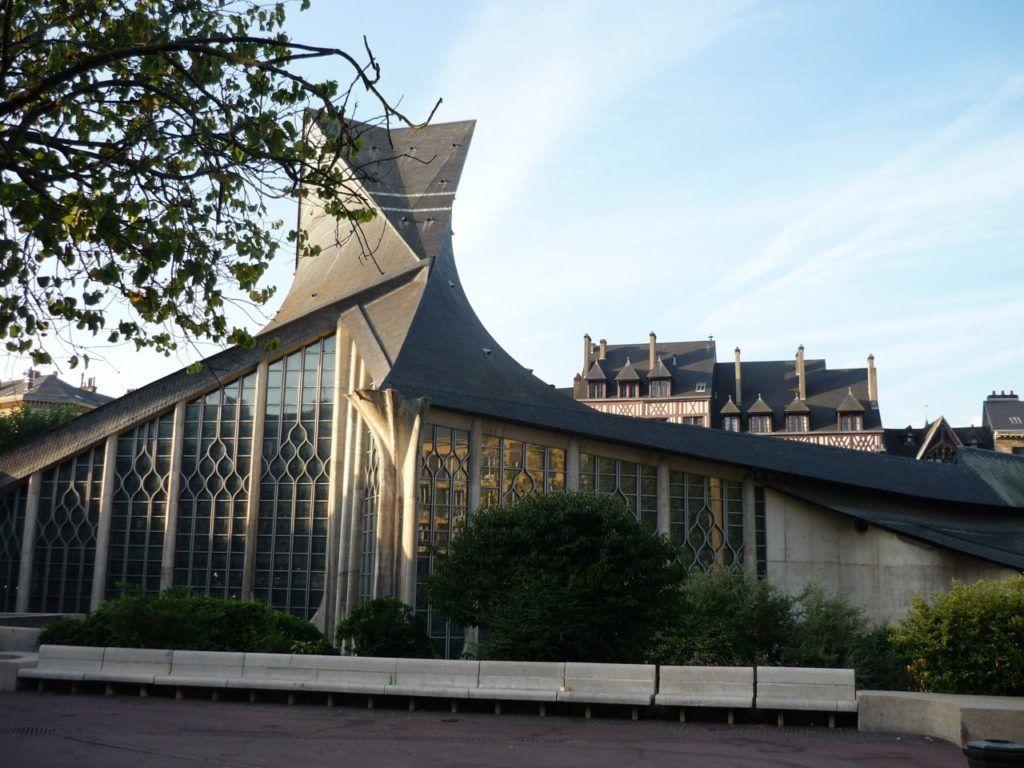Церковь Жанны д'Арк, Нормандия, Франция