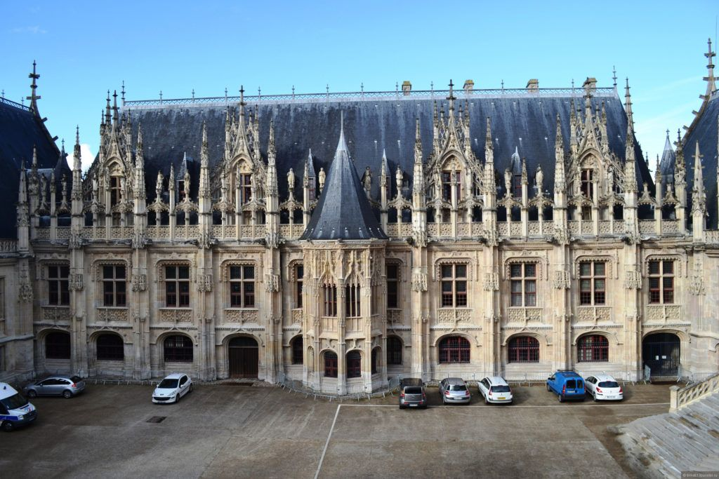 Дворец Правосудия в Руане, Нормандия
