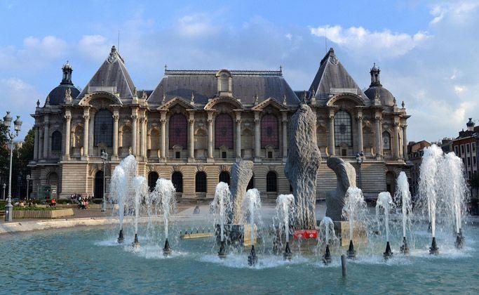 Дворец-музей изящных искусств в Лилле