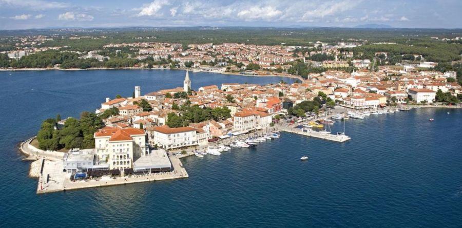 Хорватский курорт Пореч – город древней истории, великолепных пейзажев и веселых морских развлечений