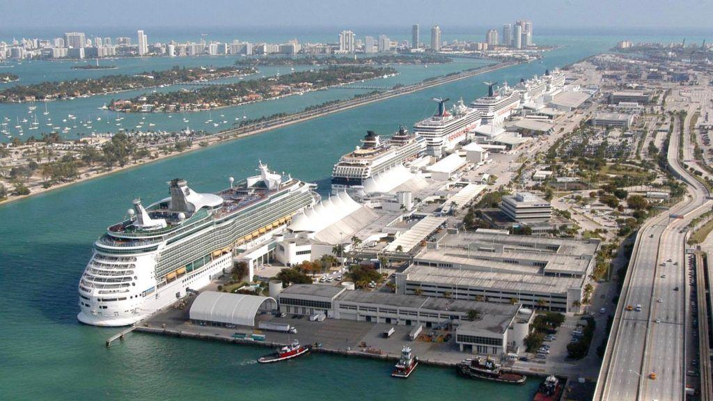 Морской (круизный) порт Майами