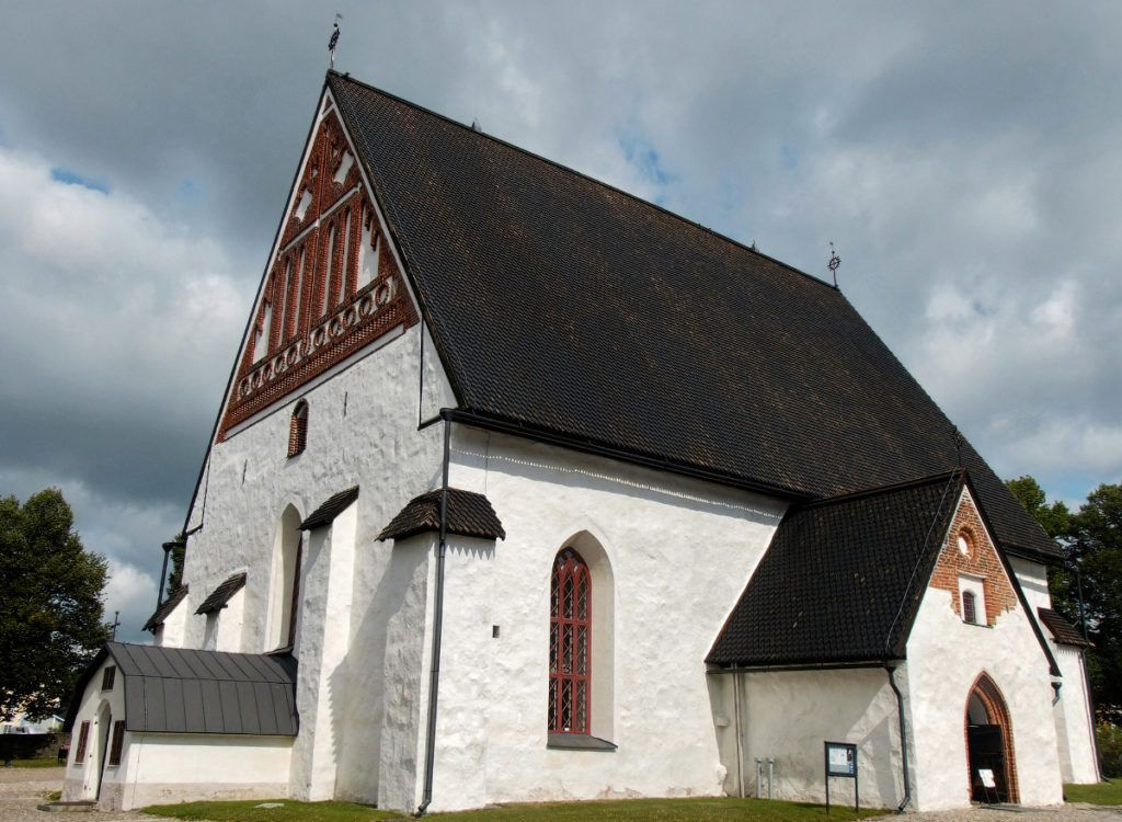 Кафедральный собор города Порвоо
