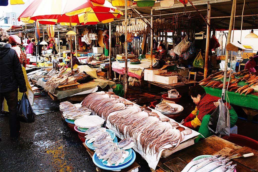 Рынок Чагальчхи, Пусан, Старый центр