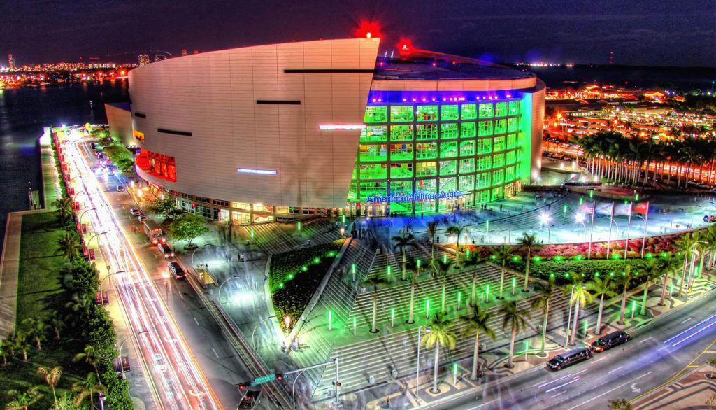 "Комплекс ""American Airlines Arena"" в Майами"
