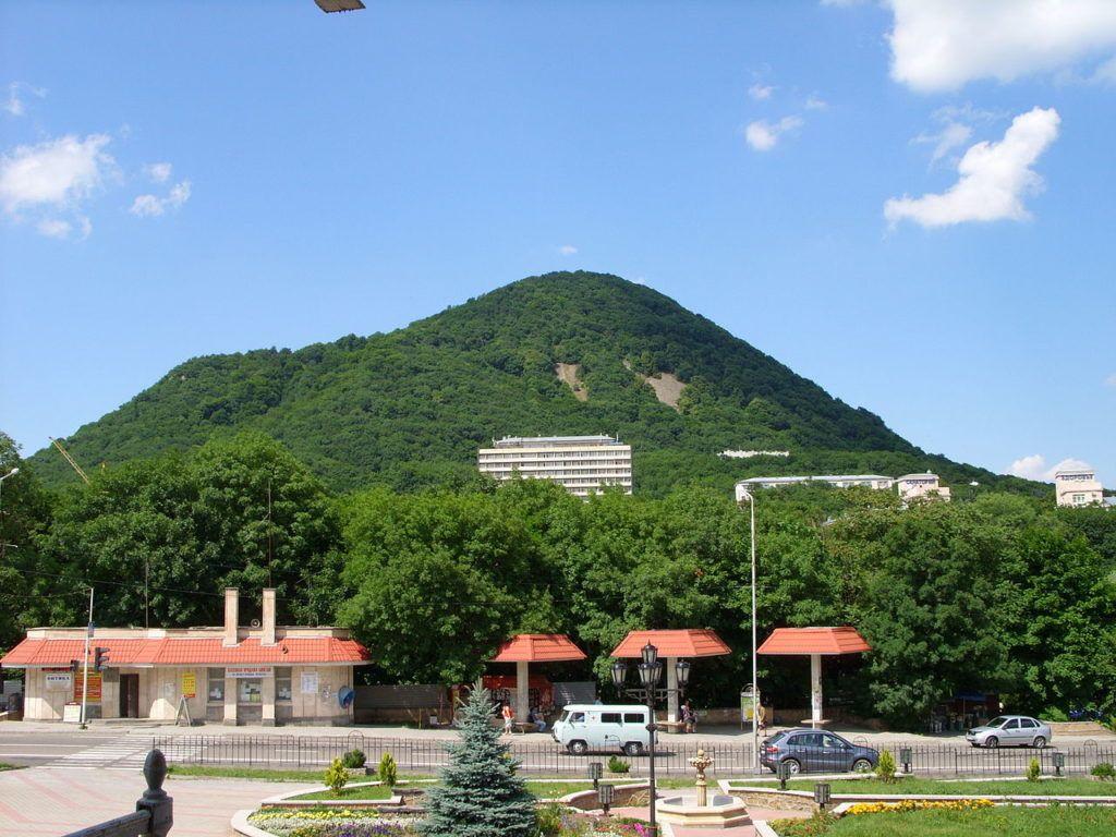 Железная гора в Железноводске