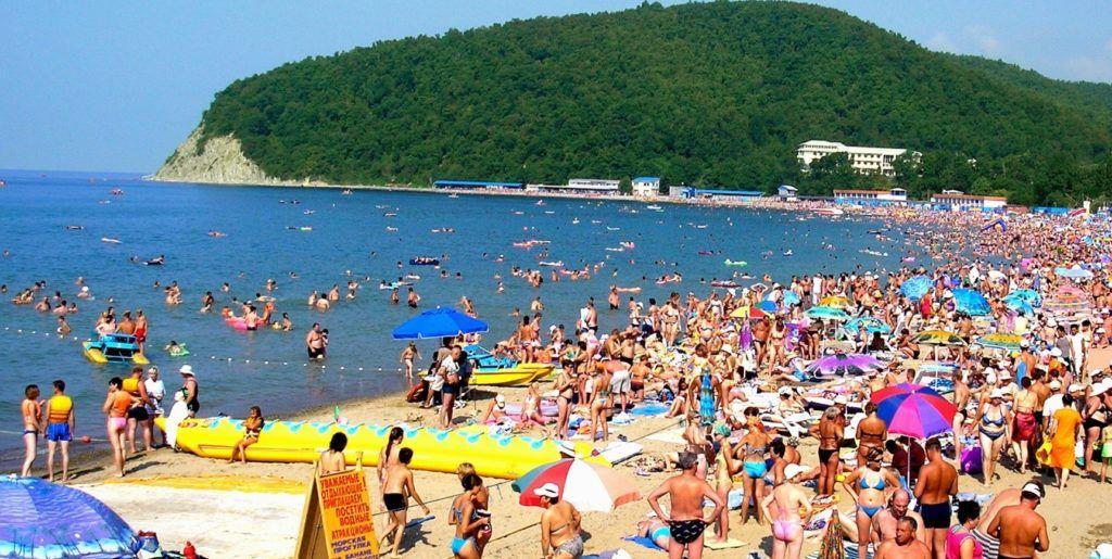 Пляжи Джубги