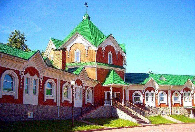 Музей елочной игрушки, Клинское подворье, город Клин