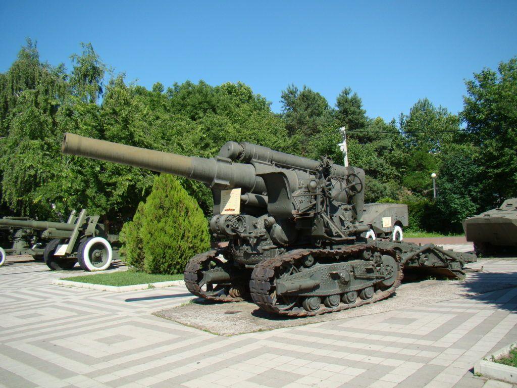 Музей военной техники в Краснодаре