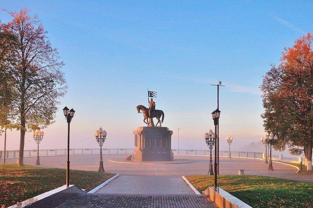 Смотровая площадка в городе Владимир