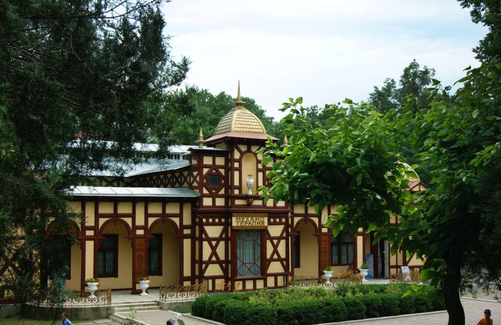 Цандеровский механотерапевтический институт в Ессентуках