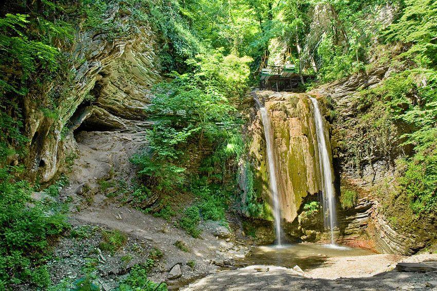 Тенгинские водопады близ Лермонтово