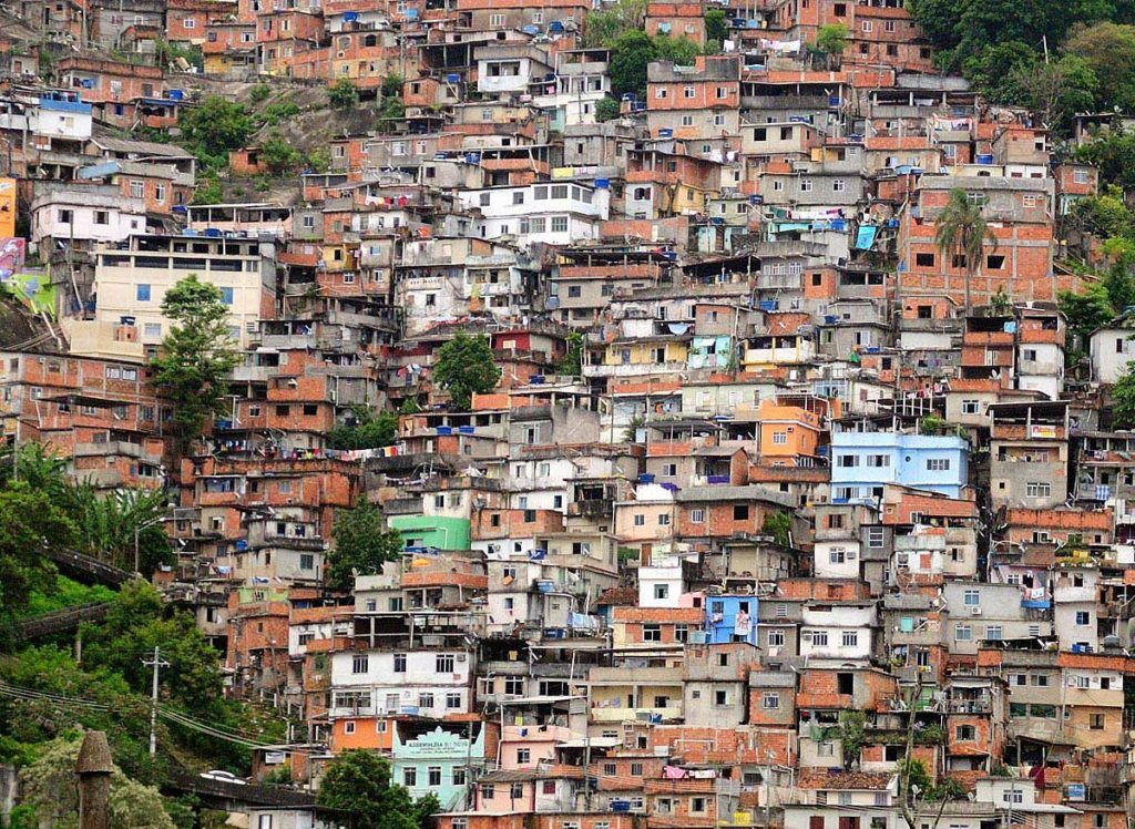 Бразилия, Рио Де Жанейро, Фавелы