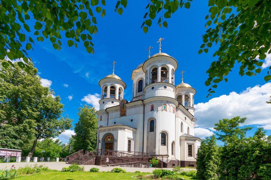 Вознесенский собор в Звенигороде