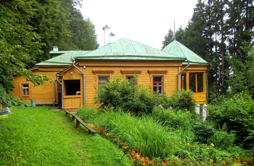 Дом-музей Пришвина в Дунино близ Звенигорода