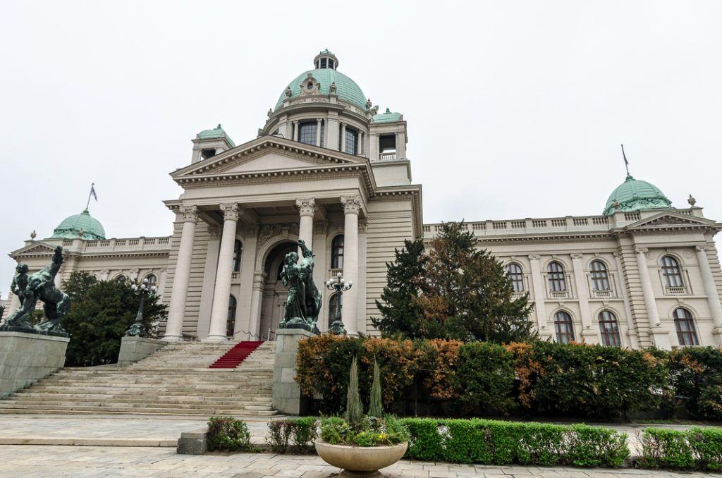 Сербия, Белград, Здание Народной Скупщины