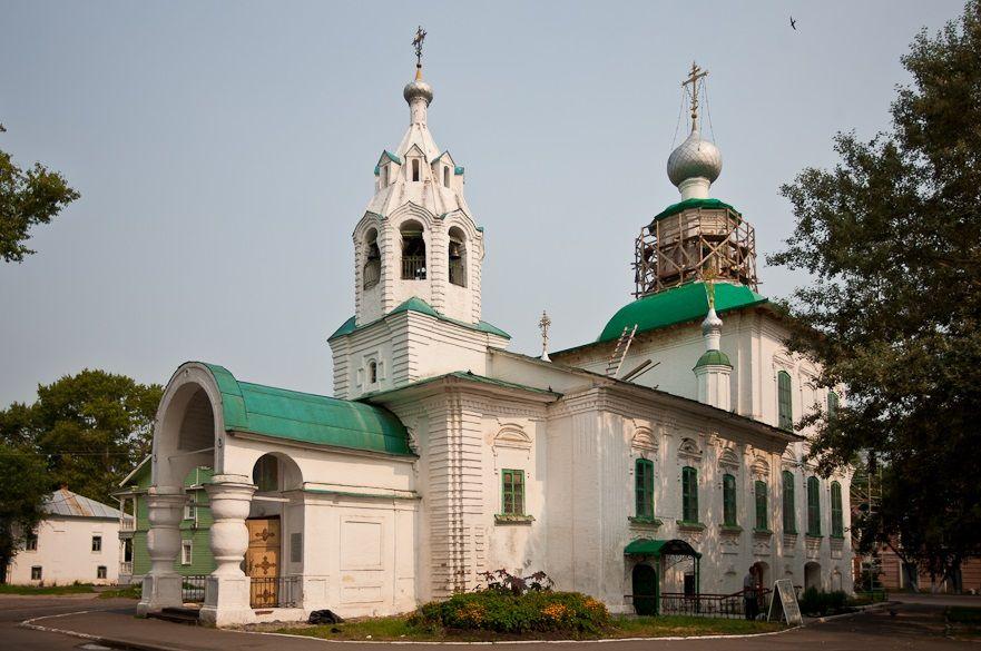 Церковь Покрова Богородицы в Вологде