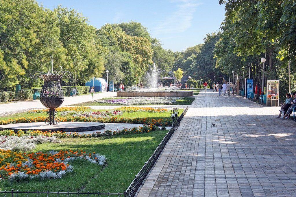Парк имени Ивана Поддубного в Ейске