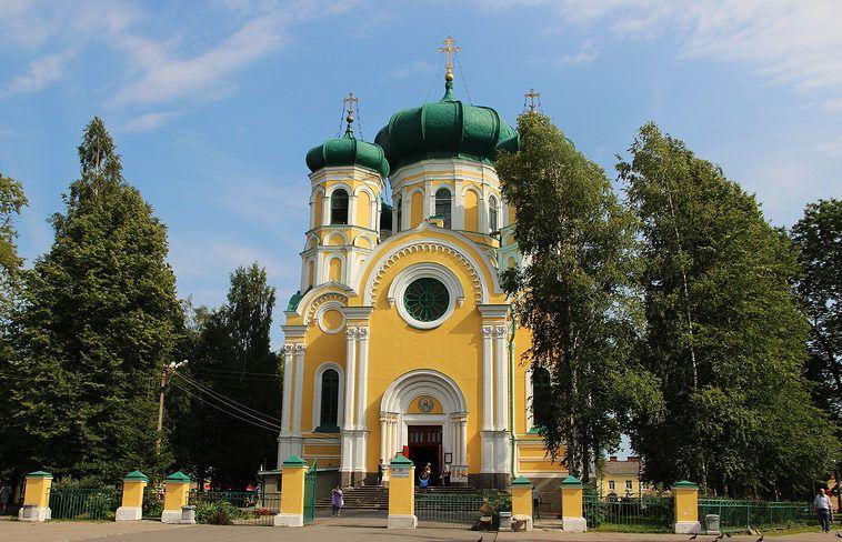Павловский кафедральный собор в Гатчине
