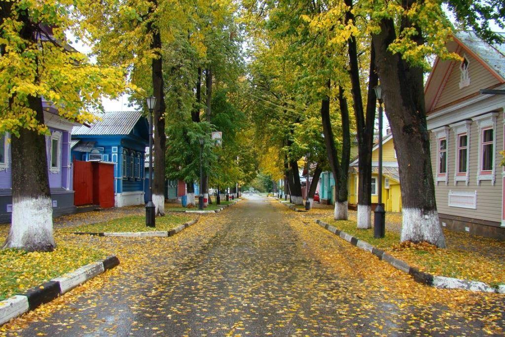 Музейный квартал в Городце