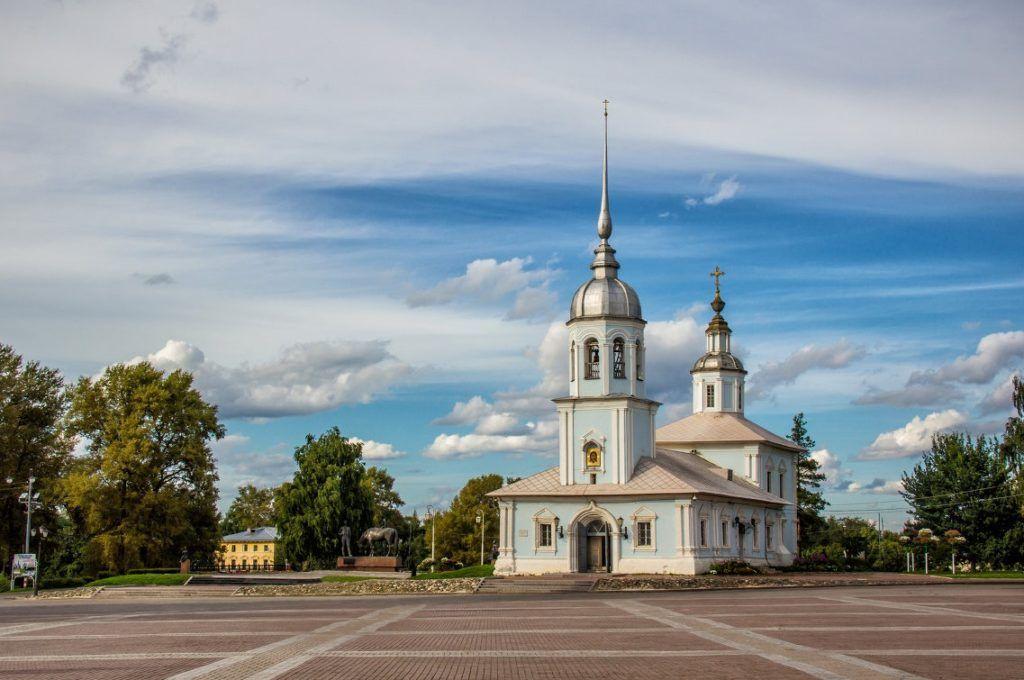 Церковь Александра Невского в Вологде