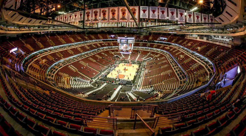 Юнайтед-центр - самый большой спортивный стадион США
