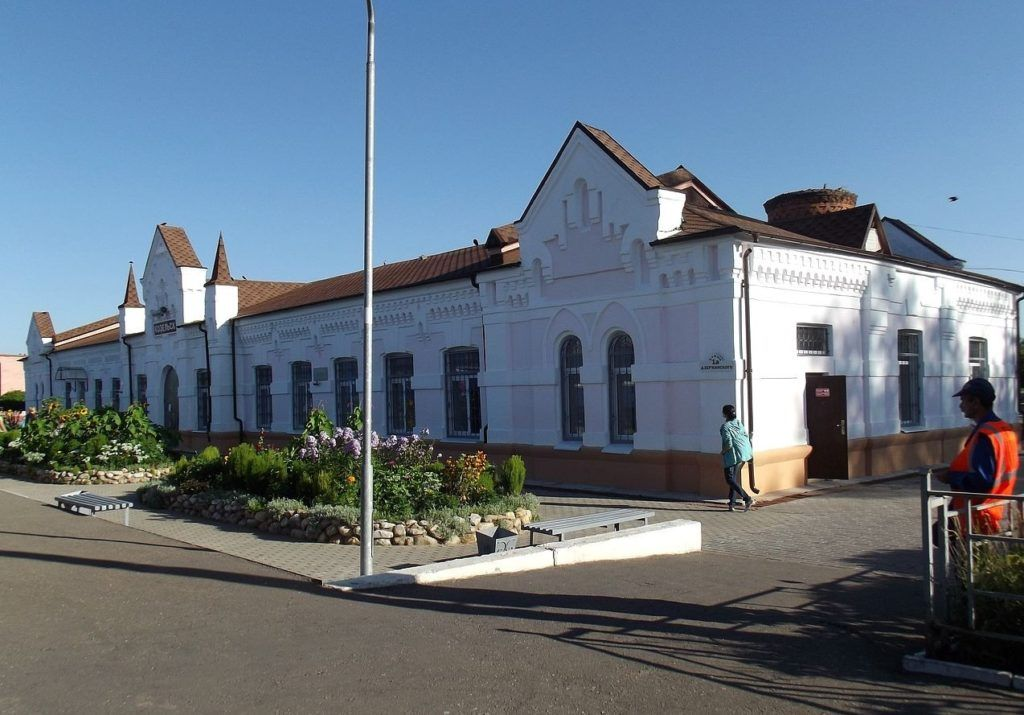 Железнодорожный вокзал в г.Козельск