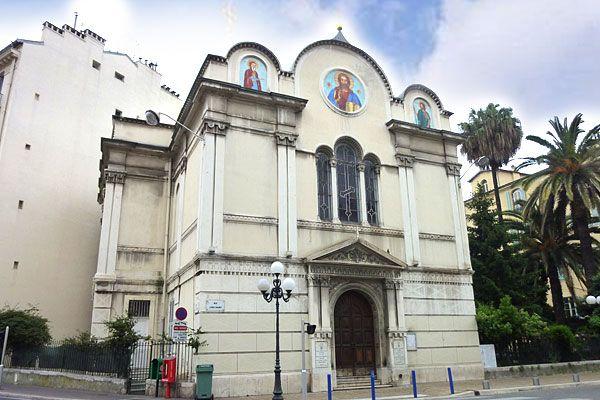 Церковь святого Николая Чудотворца и мученицы Александры в Ницце