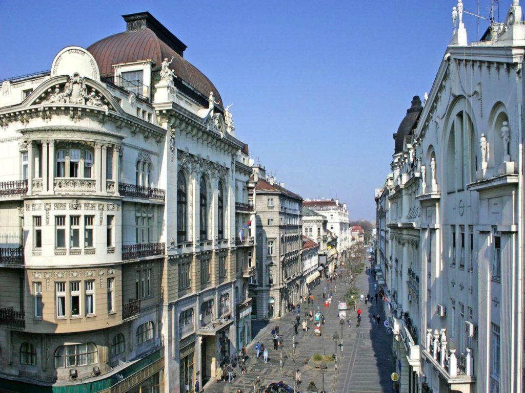 Сербия, Белград, Улица князя Михаила