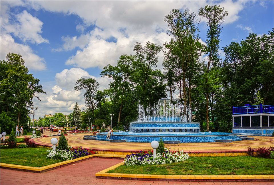 Город Майкоп в Республике Адыгея