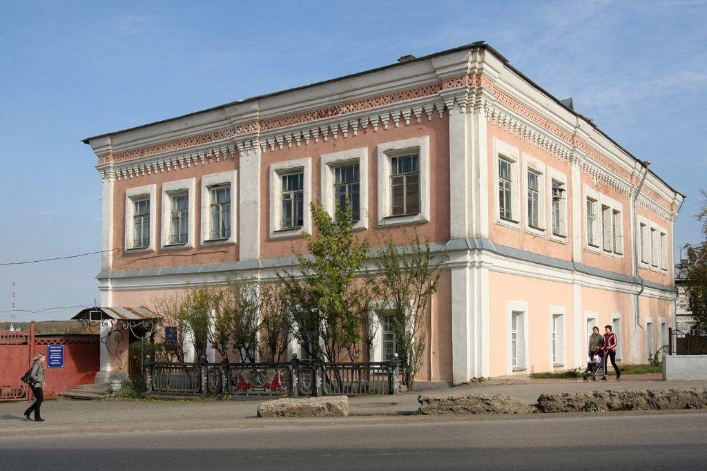 Краеведческий музей в бывшем здании магистратата, г.Кунгур