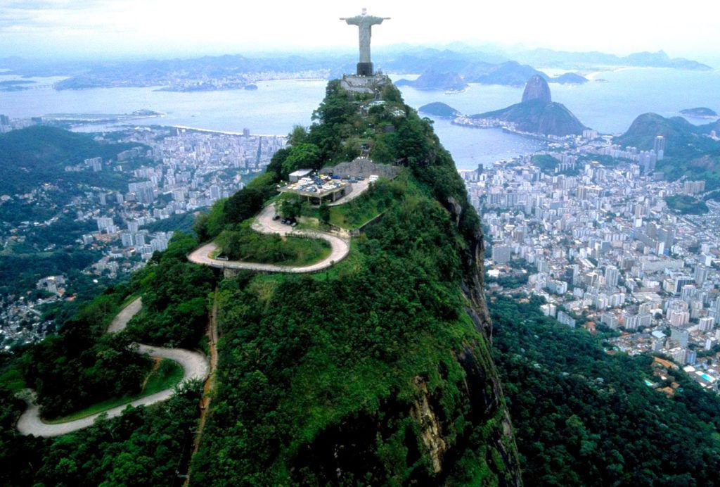 Бразилия, Рио Де Жанейро, гора Корковадо