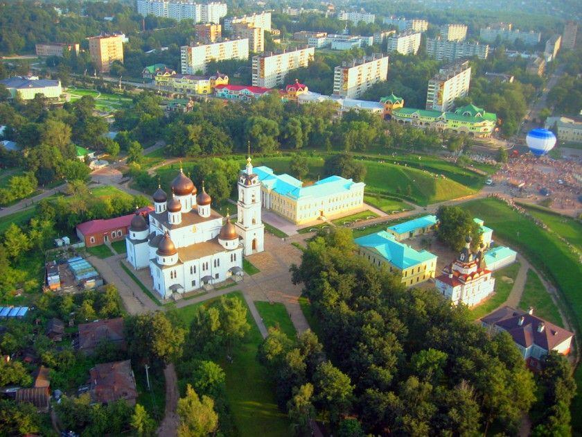 Кремль города Дмитров