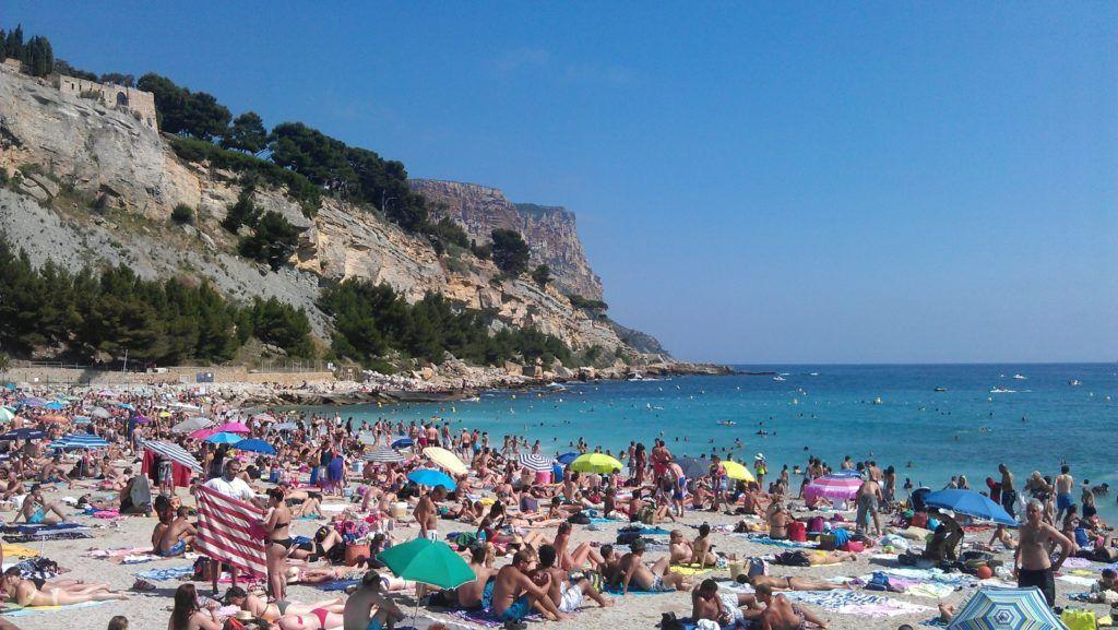Франция, Марсель, Пляж