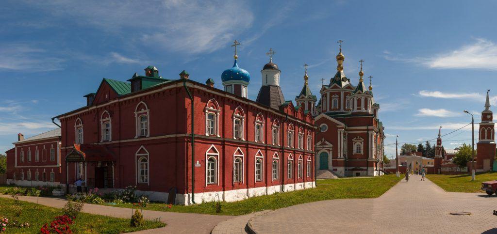 г.Коломна, Успенский Брусенский женский монастырь