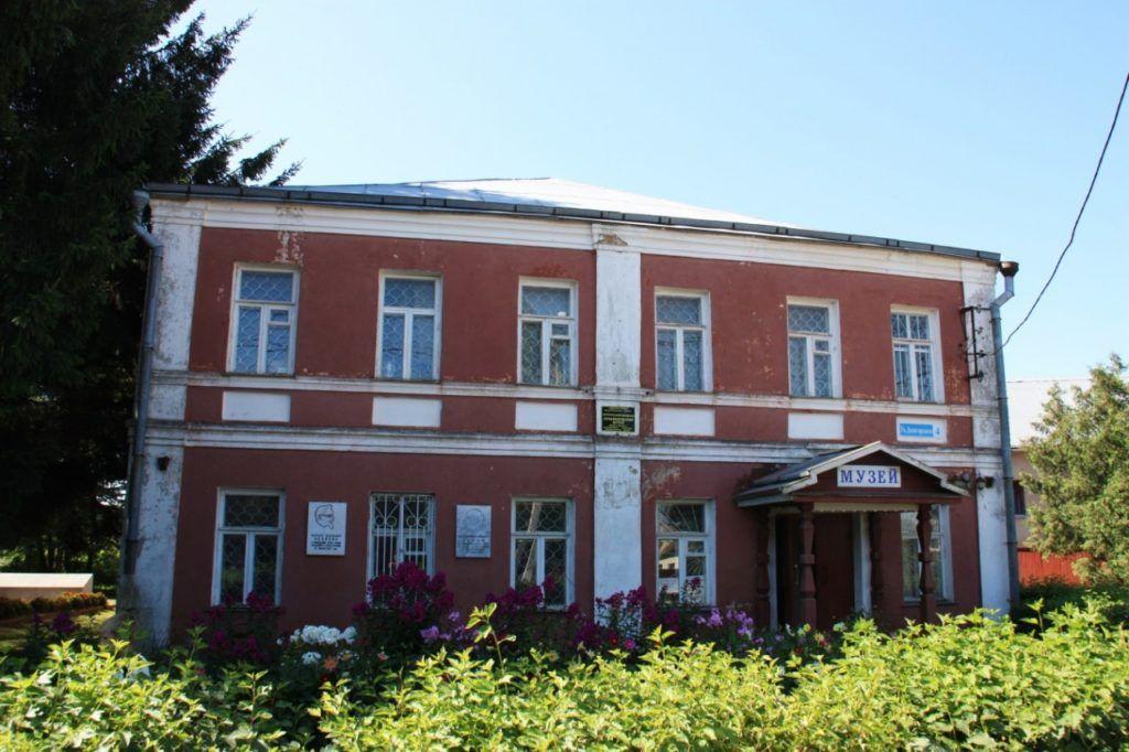 Краеведческий музей в Яропольце (близ Волоколамска)