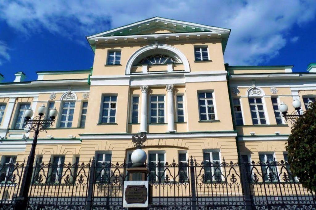 Здание музея камнерезного и ювелирного искусства Урала в Екатеринбурге