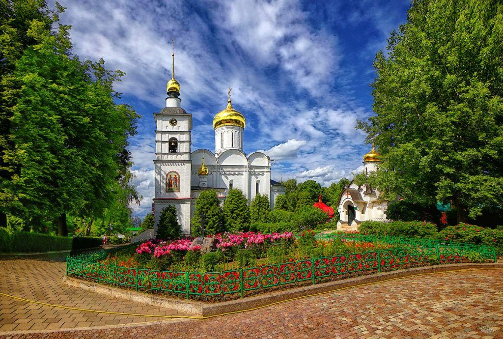 Мужской Борисоглебский монастырь в Дмитрове