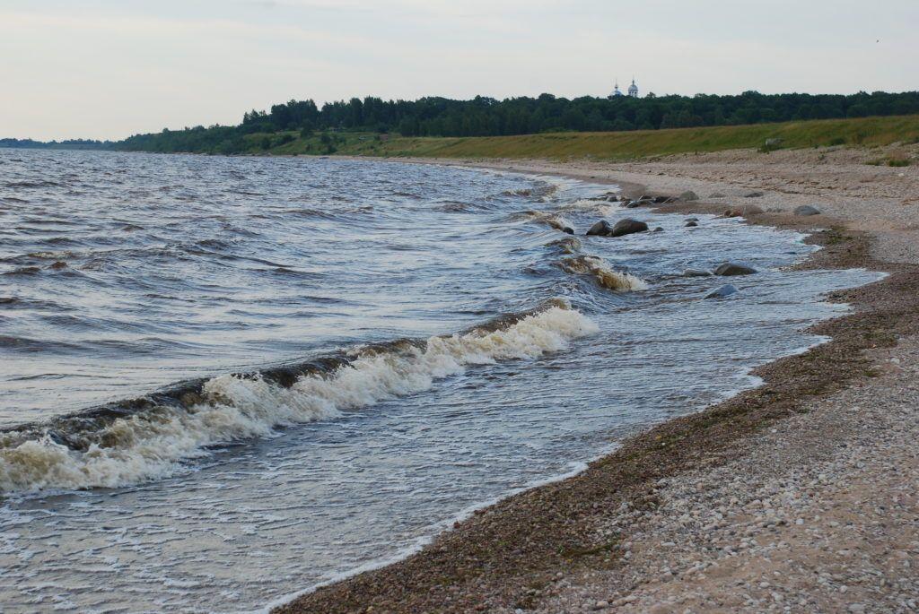 Озеро Ильмень близ Великого Новгорода