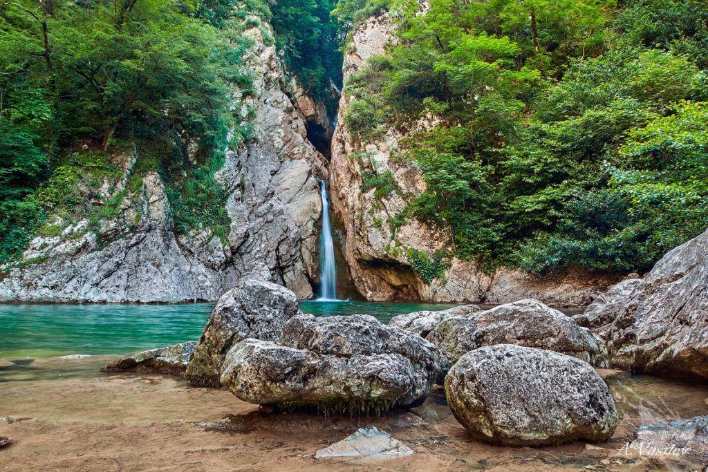 Агурские водопады близ Мацесты