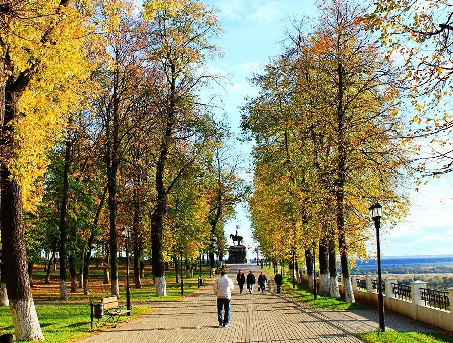 Парк А.С.Пушкина во Владимире