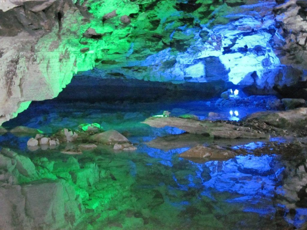 Озера Кунгурской пещеры