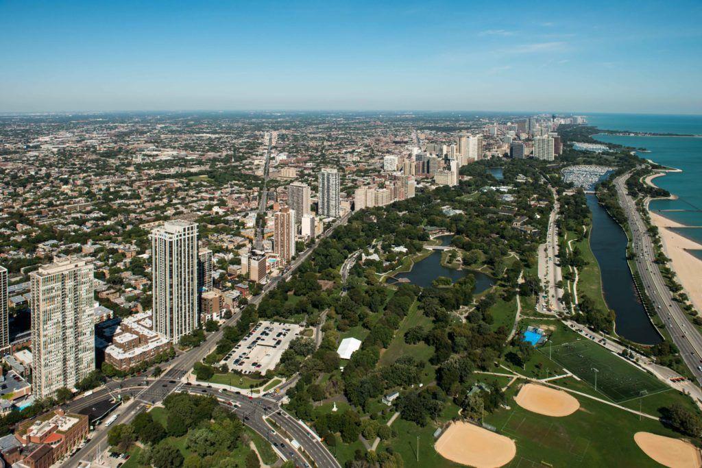 Парк Линкольна в Чикаго