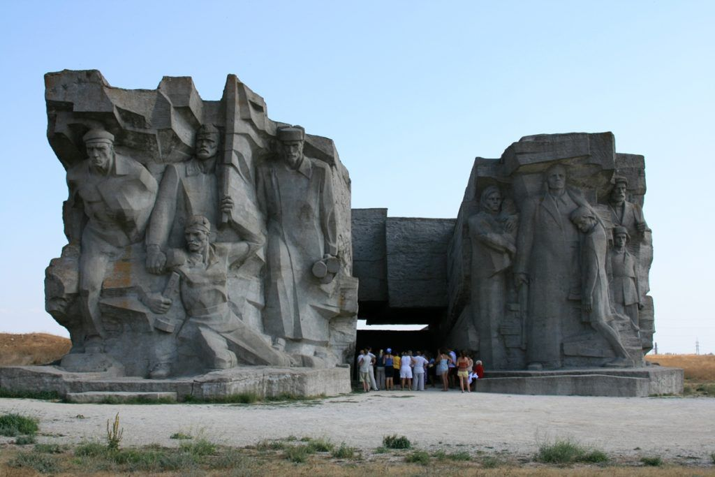 Аджимушкайские каменоломни в городе Керчь