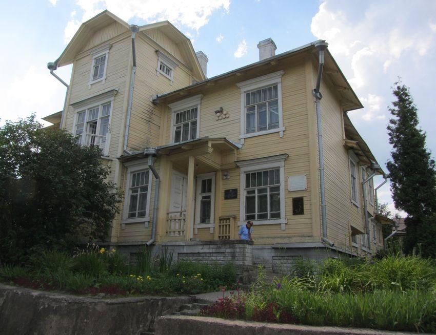 Дом-музей инженера Графтио в Волхове