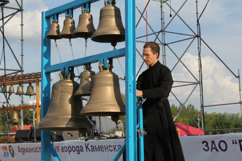 Колокольный фестиваль в городе Каменск-Уральский
